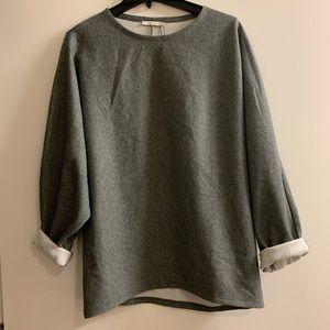 Zara oversized casual sweatshirt M